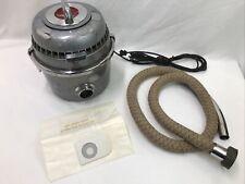 Vtg Antique Lewyt Vacuum Cleaner Chrome 40 50s Car Auto Space Age Sputnik Atomic