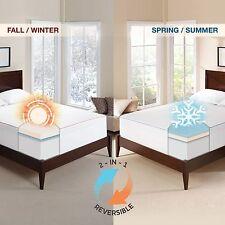 Novaform 3 Seasonal Memory Foam Mattress Topper Full