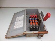 Siemens Hf361 Disconnect Safety Switch 30amp 600v Ac 250v Dc