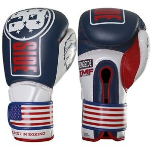 New Ringside Boxing MMA Kickboxing 16oz Sparring Gloves - Limited USA IMF Tech