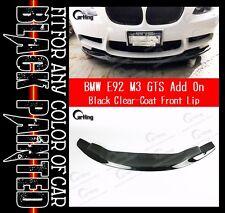 SHIP FROM USA// 08-13 BLACK BMW E92 M3 GTS style FRONT LIP SPLITTER SPOILER 1 pc
