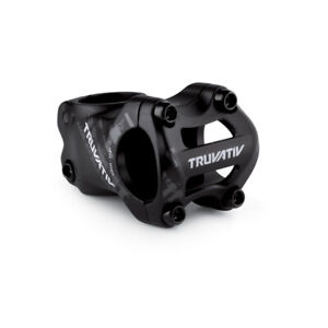 "TruVativ Holzfeller Stem 50mm 0deg 31.8mm Bar Clamp, 1-1/2"" Steerer, Blast Black"