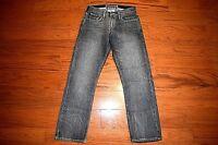 Levi's 514 - SLIM Fit STRAIGHT Leg Gray Jeans Men Size 30 x 30 - Premium Denim!!