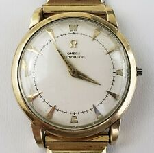 Men's Omega Bumper Automatic Wrist Watch Wristwatch