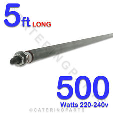"""HE6005 60""""/  5 FOOT LONG 500 watt 500w HEATING ELEMENT 0.5KW 220-240V ROD TYPE"""