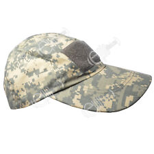 Tactical Baseball Cap - ACU - One Size Army Camouflage Military Camo Hat