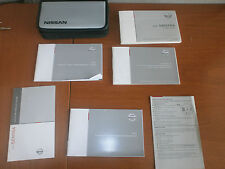 2007 07 Nissan Sentra Owner's Manual Set with Case