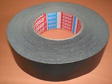 Tesa Tape ® 4651 Tesa Woven Tape 50mx38mm Black Premium Power Adhesive Tape New