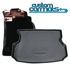 TO FIT: Toyota RAV4 - (2006-2012) - COMBO - Car Mats + Boot/Cargo Liner