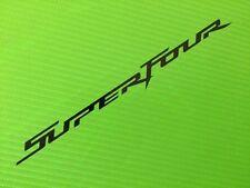 Superfour Calcomanías Stickers Para Carrera, Bicicleta De Pista, caja de herramientas, garaje o van # 23