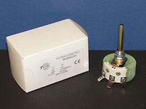 TORIVAC PC02500010 Hochlast Draht Potentiometer Poti 10 Ohm 25W Neu