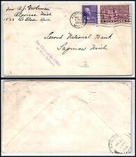 1939 US Special Delivery Cover - Algonac, MI to Saginaw, Michigan P15