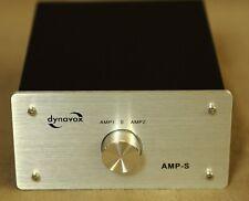 Dynavox AMP-S Umschalter 2 Verstärker->1 Boxenpaar / 2 Boxenpaare ->1 Verstärker