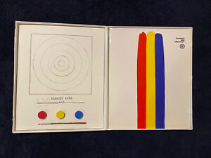 Jasper Johns, Target 1970, Print with Book in White Case