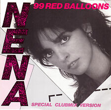 "NENA - 99 RED BALLOONS (SPECIAL CLUBMIX VERSION) RARE SINGLE 7"" SPAIN PROMO 1984"