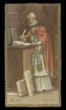 santino-holy card ediz. EB  n.2013 S.AGOSTINO