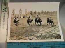Rare Historical Original VTG 1943 Mudder Blenheim Lad Aqueduct Track NYC Photo