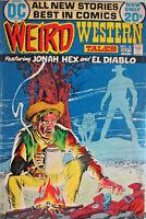 Weird Western Tales #13 DC Comics 1972 Bronze Age VG- Horror Supernatural