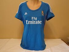 REAL MADRID OFFICIAL LICENSED WOMENS MED AWAY JERSEY 13/14 NEW