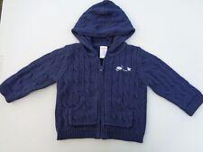 GYMBOREE Hoodie Sweater Boys Size 12 - 18 M Baby 12m 18m Coat hood hooded