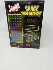 Jenga Space Invaders Collector's Edition Game USAopoly 2013