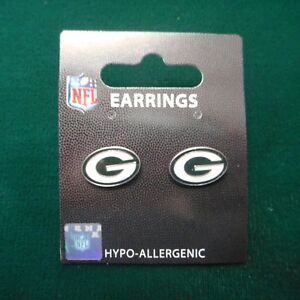 """NEW Packer """"G"""" Logo Stud Earrings"""