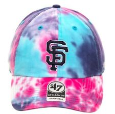 San Francisco Giants Adjustable Strapback Cap Tie Dye Hat Humm Baby SF Baseball