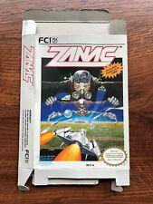 ZANAC Authentic NES Nintendo Empty Box Only