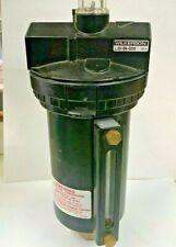 """WILKERSON L30-06-G00 Air Line Mist Lubricator 3/4"""" Metal Bowl w Sight Glass"""