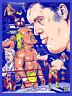 Wrestlemania 3 Highlights Poster Andre The Giant Hulk Hogan Wrestling Print 8x10