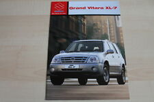 97420) Suzuki Grand Vitara XL-7 Prospekt 08/2003