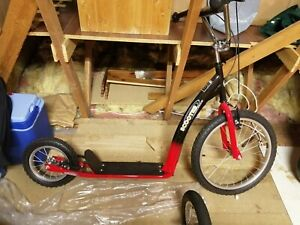 """Dog SCOOTER 20"""" front wheel 12"""" back wheel Suit teen to adult COLLECTION WF17"""