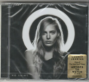 Lauren Jenkins- No Saint Factory Sealed BRAND NEW CD Free 1st Class UK P&P