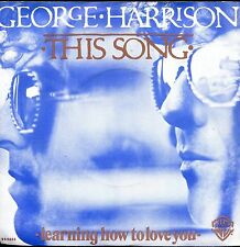 7inch GEORGE HARRISON this song HOLLAND EX +PS