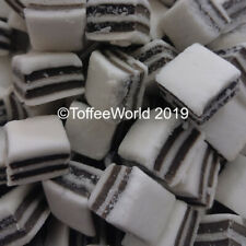 Black & White Mints - Taveners Retro Liquorice Mint Sweets x Weigh Out Bag