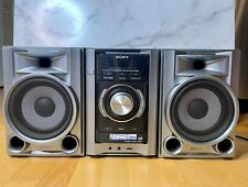 New listing Sony Mhc-Ec68P Mini Hi-Fi Component System Cd Mp3 Receiver Shown Working