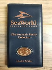Seaworld the souvenir 36 stretched penny collector Limited Edition 1999 Wallet
