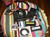 CANON EOS-1D Professional  DSLR camera with CCD sensor EF mount APS-H bundle