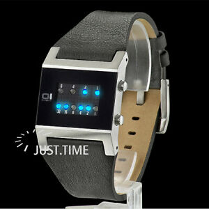THE ONE Binary Watch KERALA TRANCE KT102B1 NEU!!!