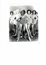 VINTAGE PRETTY SEXY DANCING GIRLS HOLDING 1933 DIME AD PRINT PHOTO # 16