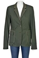 JIL SANDER Military Green Cotton Blend Jacket SIZE IT 42 US 6