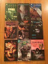 Neil Gaiman Lot of 9 Sandman Graphic Comic Novels