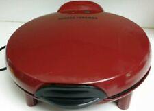MAKE OFFER》George Foreman Electric Quesadilla Maker》Red》Model # GFQ001