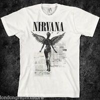 grunge, vintage 90s t shirt, rock, alternative, tour, teen spirit, utero, grunge