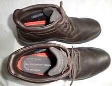 Rockport Rugged Bucks Waterproof, Men's brown Ankle Boots size11.5 /46 UK