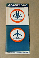 American Airlines Timetable - Feb 12, 1967