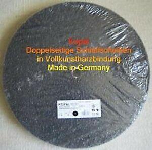 10 x doppelseitige Schleifscheiben 400 mm Korn 16 30 60 80 120 Top !!!