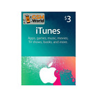 iTunes Gift Card $3 US USD Apple | App Store Key Code | American USA | iPhone