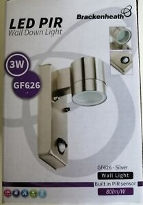 LED PIR Brackenheath  - Wall DownLight