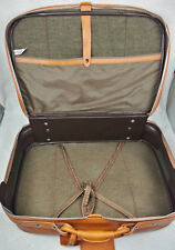 Meridian Leather Suitcase Strap & Buckle Luggage Tag Overnight Bag Vintage
